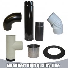 Ofenrohr emailliert High Quality Line