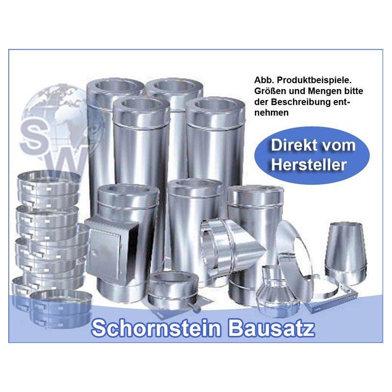 Edelstahlschornsteine direkt vom Hersteller