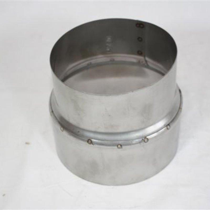 0,6 mm Erweiterung von 130 mm auf 150 mm Stahlblech gebläut