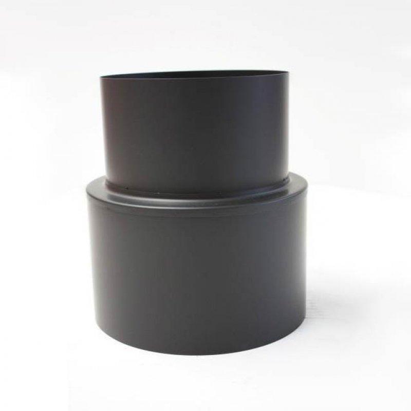 edelstahlrohr doppelwandig bergang von verbindungsleitung auf schornsteinanschluss ew dw dn. Black Bedroom Furniture Sets. Home Design Ideas