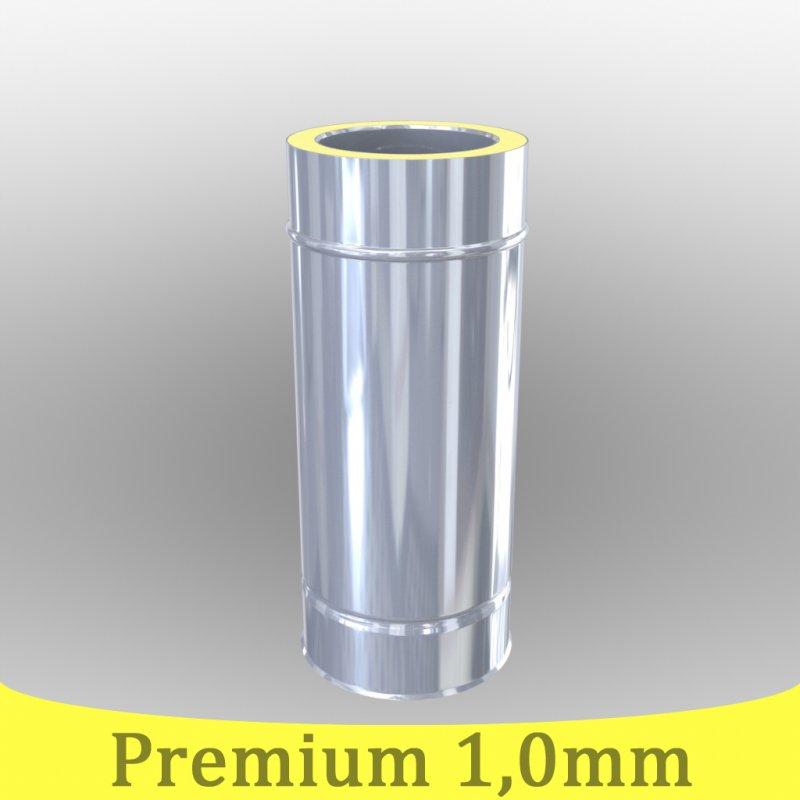 edelstahlschornstein 1 0mm premium l ngenelement 500 mm dw 150. Black Bedroom Furniture Sets. Home Design Ideas