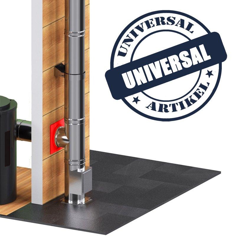edelstahlschornstein doppelwandig brandschutzwanddurchf hrung. Black Bedroom Furniture Sets. Home Design Ideas