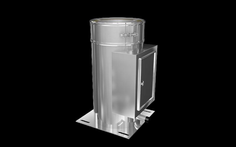 edelstahlschornstein komplett bausatz aussen dw 150 doppelwandig 3 2 m 0 5 mm. Black Bedroom Furniture Sets. Home Design Ideas