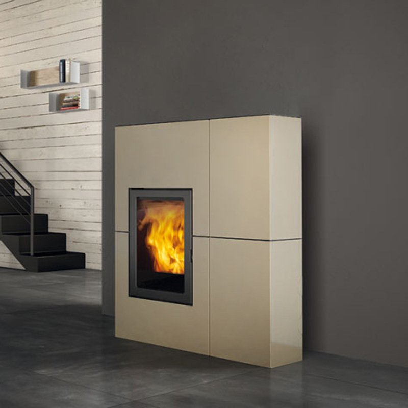 edilkamin pelletofen blade stahl 12 kw. Black Bedroom Furniture Sets. Home Design Ideas