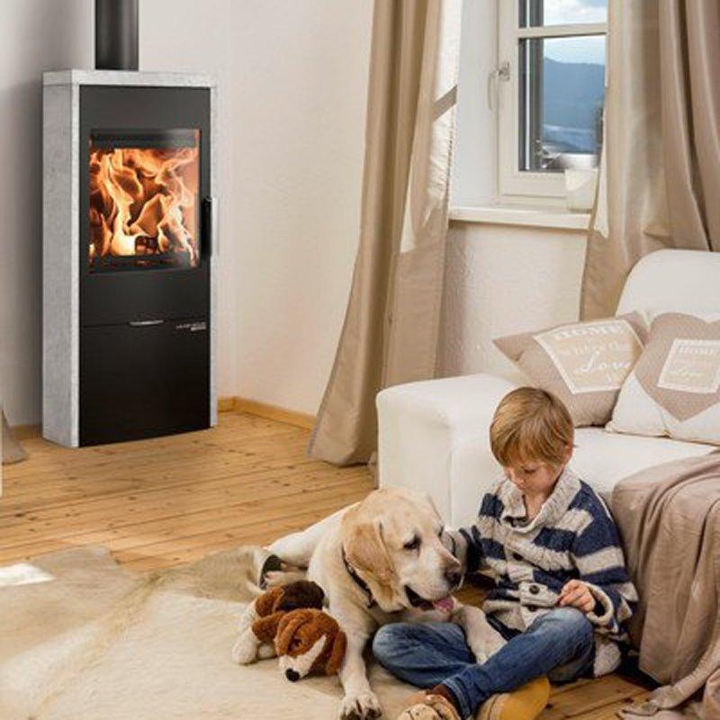 haas und sohn kaminofen lausitz easy. Black Bedroom Furniture Sets. Home Design Ideas