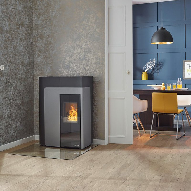 haas und sohn pelletofen hsp 8 home. Black Bedroom Furniture Sets. Home Design Ideas