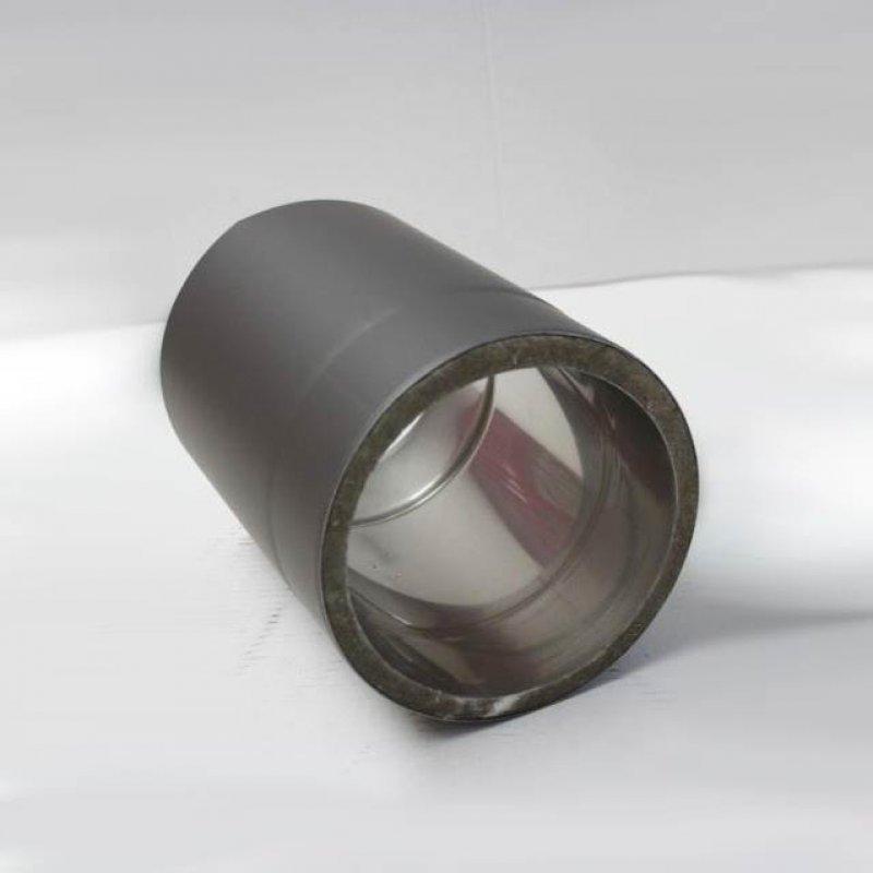 isoline edelstahlrohr doppelwandig dn 150 mm senotherm gussgrau 288. Black Bedroom Furniture Sets. Home Design Ideas