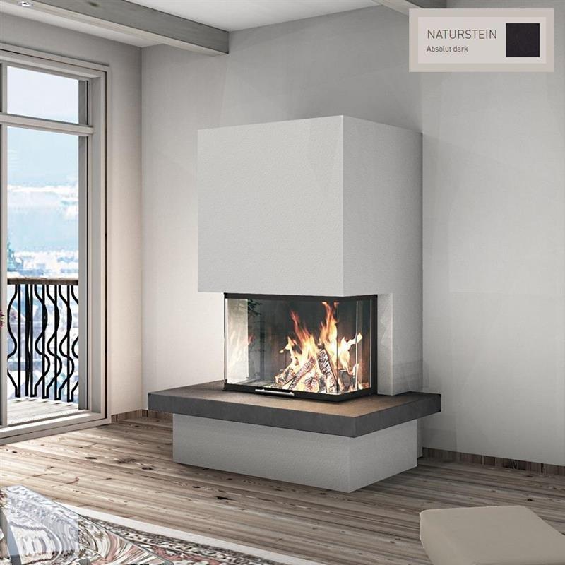 kaminbausatz mit spartherm arte 3rl 80h brennzelle. Black Bedroom Furniture Sets. Home Design Ideas