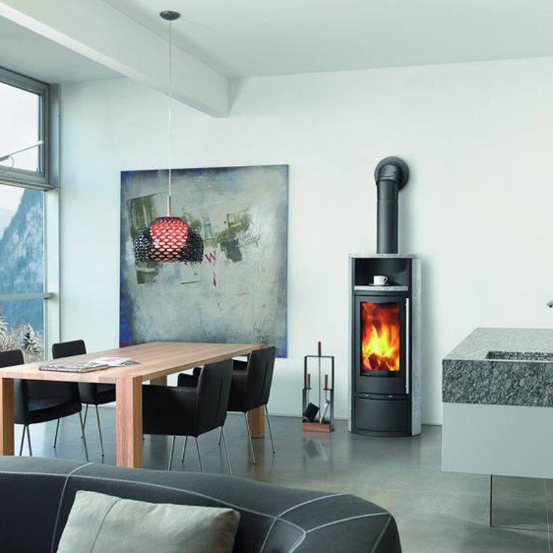 lohberger kaminofen felina naturstein. Black Bedroom Furniture Sets. Home Design Ideas