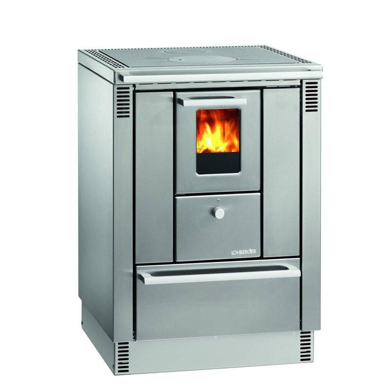 Lohberger Kuchenherd Ofen Mh 600l Edelstahl 5kw