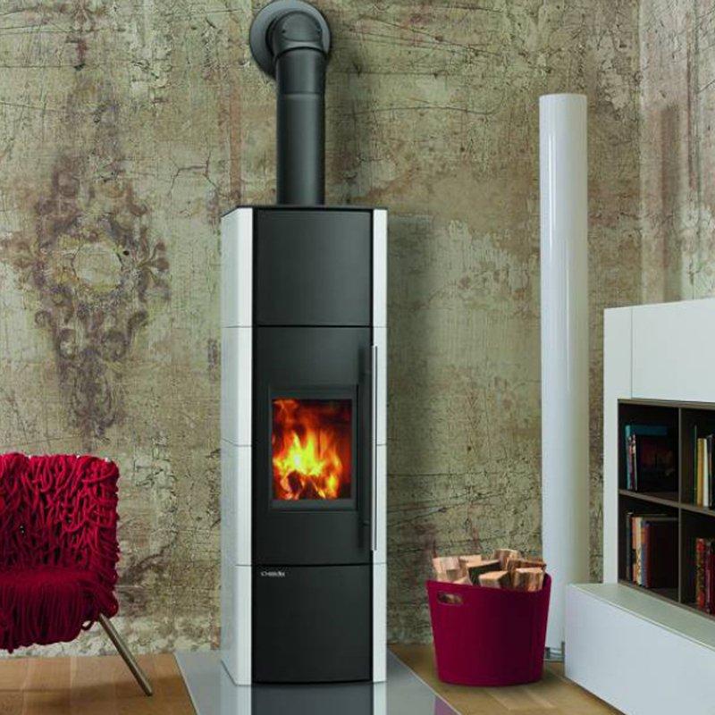 lohberger wassergef hrter kaminofen lobo h2o emaille. Black Bedroom Furniture Sets. Home Design Ideas