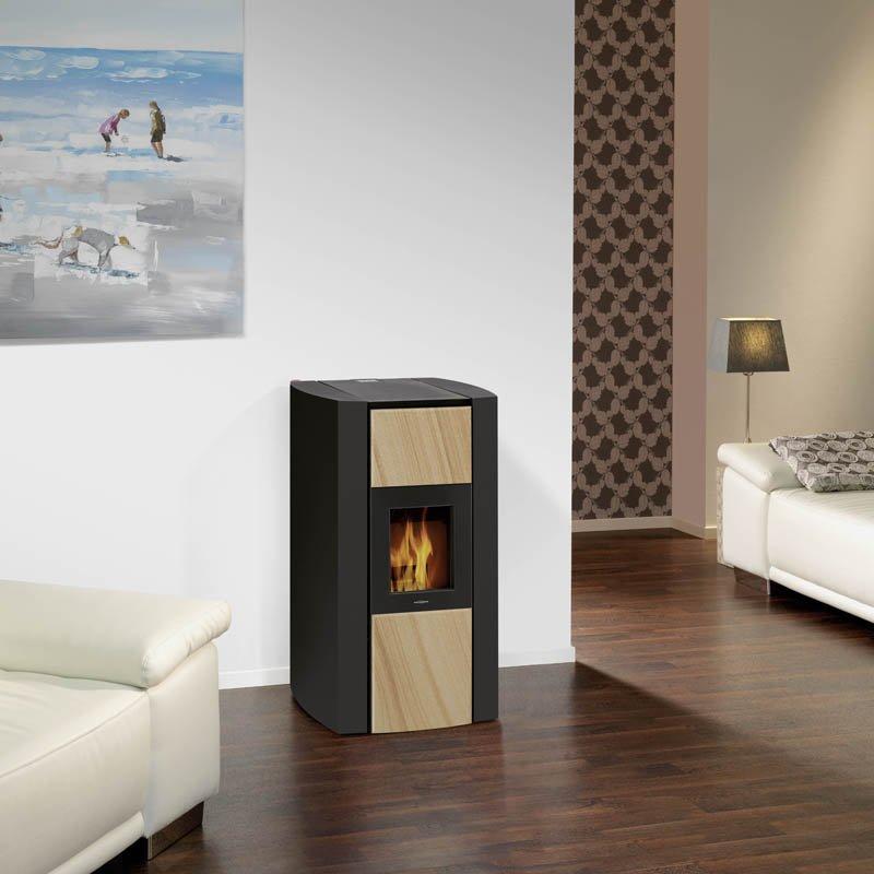 oranier wasserf hrender pelletofen bora. Black Bedroom Furniture Sets. Home Design Ideas