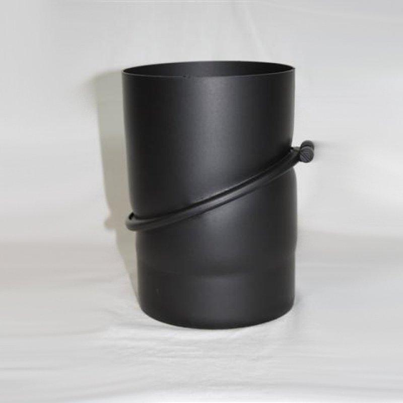 Rauchrohr Winkel Verstellbar 0 45 Ohne Revisionsoffnung Senotherm Lack