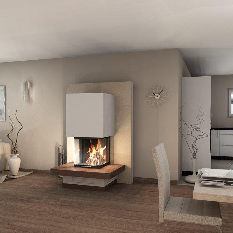 spartherm heizeinsatz arte u 50h kaminbausatz. Black Bedroom Furniture Sets. Home Design Ideas
