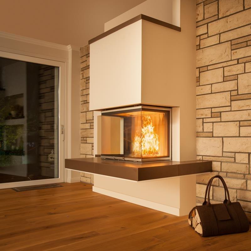 spartherm kamin arte 3rl 80h 4s u form. Black Bedroom Furniture Sets. Home Design Ideas