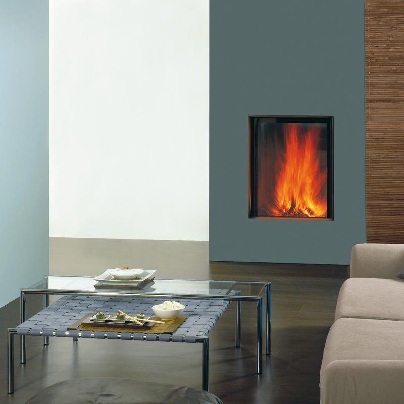 spartherm kamin arte bh 4s gerade. Black Bedroom Furniture Sets. Home Design Ideas