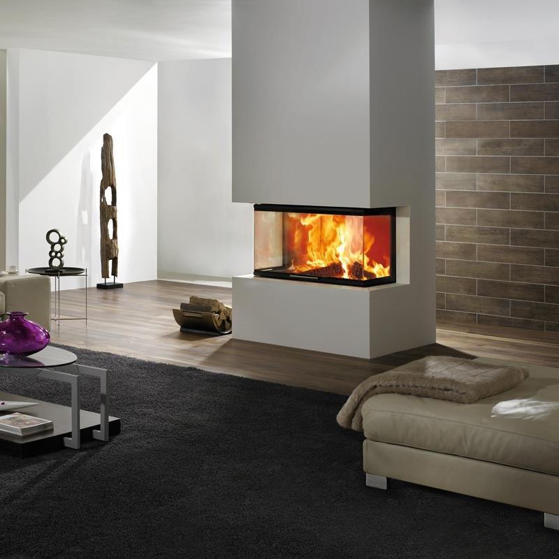 spartherm kaminkassette arte 3rl 100h 4s u form. Black Bedroom Furniture Sets. Home Design Ideas
