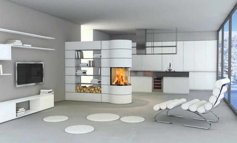 spartherm kaminkassette magic rund. Black Bedroom Furniture Sets. Home Design Ideas