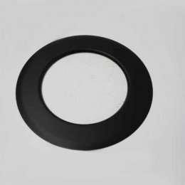 isoline winkelrohr 450x700 mm doppelwandig mit t r u drosselklappe dn 150 mm senotherm schwarz. Black Bedroom Furniture Sets. Home Design Ideas