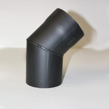 rauchrohr bogen 90 dn 150 mm gemufft ohne reinigungs ffnung schutzlackiert. Black Bedroom Furniture Sets. Home Design Ideas
