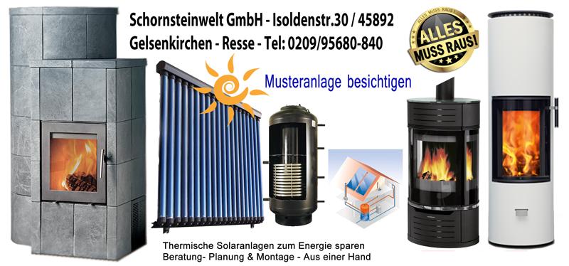 Großer Lagerverkauf der Schornsteinwelt in Gelsenkirchen