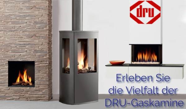 DRU Gas- Kamin�fen und Heizeins�tze