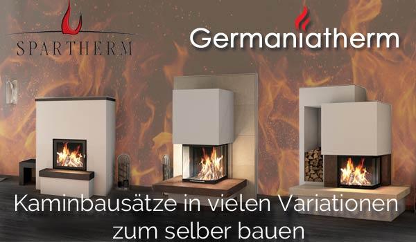 Germaniatherm komplett Kaminbaus�tze