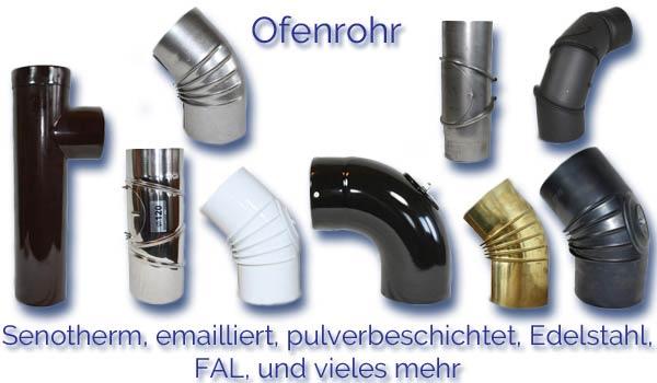 Ofenrohre / Rauchrohre